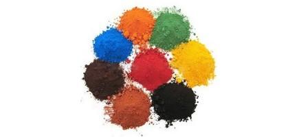 Порошковый пигмент (краска) цветной Россия