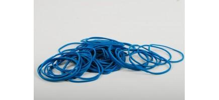 Кольцо  латексное (банковкая резинка) синяя Тайланд