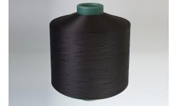 Нить полиэфирная текстурированная 33,4 текс черная - Индия