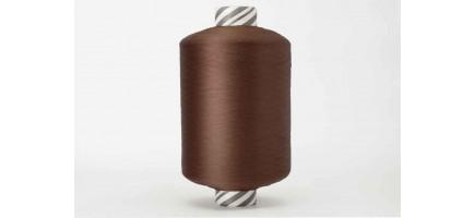 Нить полиэфирная текстурированная 16,7 | темно- коричневый № 1008 - Индия