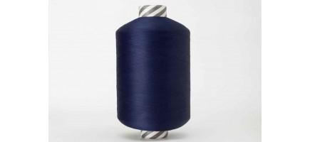 Нить полиэфирная текстурированная 16,7 | темно- синий № 1009 - Индия