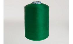 Нить полиэфирная текстурированная 16,7 ТЕКС зеленая Индия