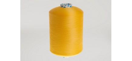 Нить полиэфирная текстурированная 16,7 | желтая  № 16 Индия