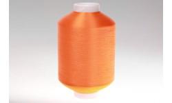 Нить полиэфирная текстурированная 16,7 оранжевая - Индия