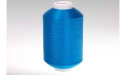 Нить полиэфирная текстурированная 16,7 синяя - Индия