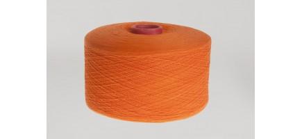Пряжа смесовая (Nm10/1) оранжевая Индонезия