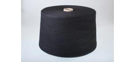 Пряжа смесовая (Nm30/1) черная Индонезия
