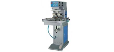 Станок тампонный с конвейерной лентой и автоматической выгрузкой (одноцветная или двухцветная печать)