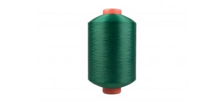 Нить полиэфирная текстурированная 16,7 текс зеленая 123
