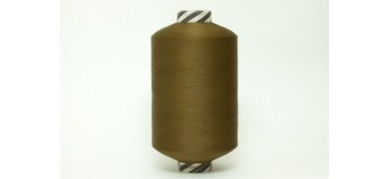 Нить полиэфирная текстурированная 16,7 | оливковая № 1021 Индия