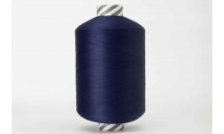 Нить полиэфирная текстурированная 16,7 | темно-синий № 1042- Индия