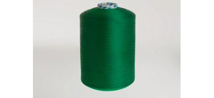 Нить полиэфирная текстурированная 16,7 | зеленая   № 49 Индия
