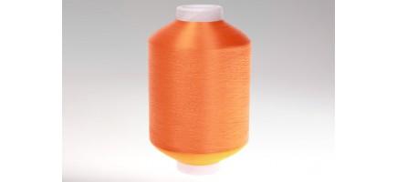 Нить полиэфирная текстурированная 16,7   оранжевая  № 77 Индия