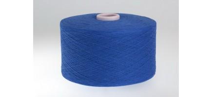 Пряжа смесовая (Nm10/1) синяя Индонезия