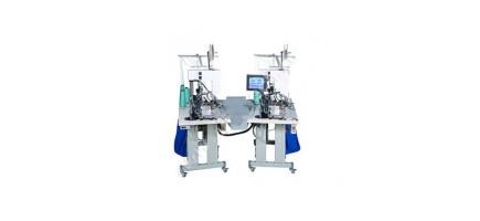 Перчаточный автоматический швейный оверлок с функцией прошивки этикеток 10 класс 10G automatic glove label sewing machine